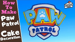 PAW PATROL LOGO SHIELD from NICK JR Cake Decoration Tutorial StepbyStep How to Make Caketastic Cakes