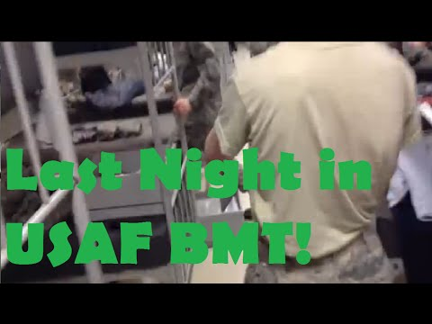 The end of USAF BMT
