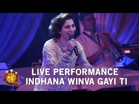 Indhana Winva Gayi Thi - Live by Sophie Choudry | Gujarati Garba Songs