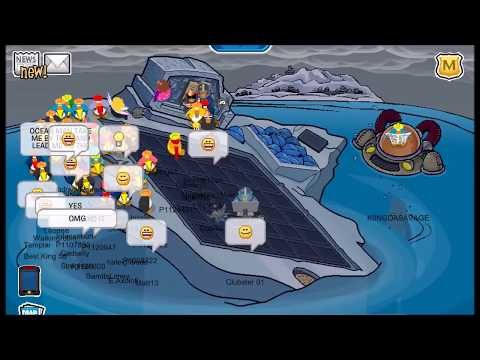 Club Penguin Rewritten - Tipping the Iceberg!