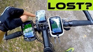 3 Tips On How To Navigate With Cycling Computer IN THE FOREST.
