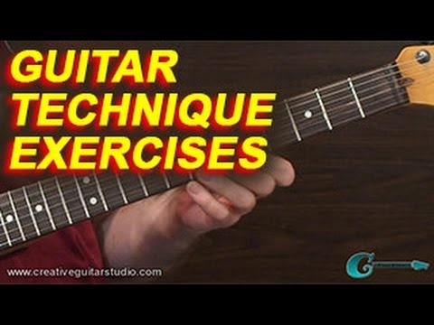GUITAR TECHNIQUE: Exercising Weak Fingers