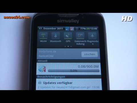 SP-80 3G PEARL simvalley Mobile- Dual Sim