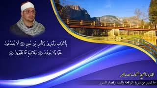 ♢ من اروع ما قرأ المرحوم الشيخ الشحات محمد أنور | سورة الواقعة والبلد وقصار السور | ممنتج HD ♢