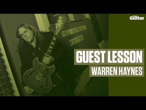 Warren Haynes Guest Lesson (TG226)