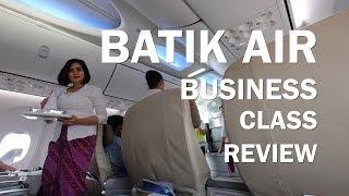 BATIK AIR BUSINESS CLASS BALI TO JAKARTA! - BOEING 737-900ER
