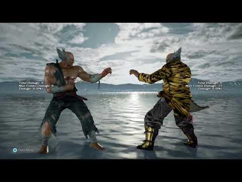 Tekken 7 Pseudo Qudans Ewgf Crush Tech With Mishimas Using Macro Assist Moves Youtube