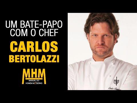 Carlos Bertolazzi: Uma entrevista com o chef de Cozinha Sob Pressão