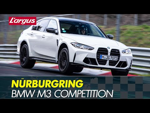 New BMW M3 Competition (G80) : Nürburgring battle vs modified M2