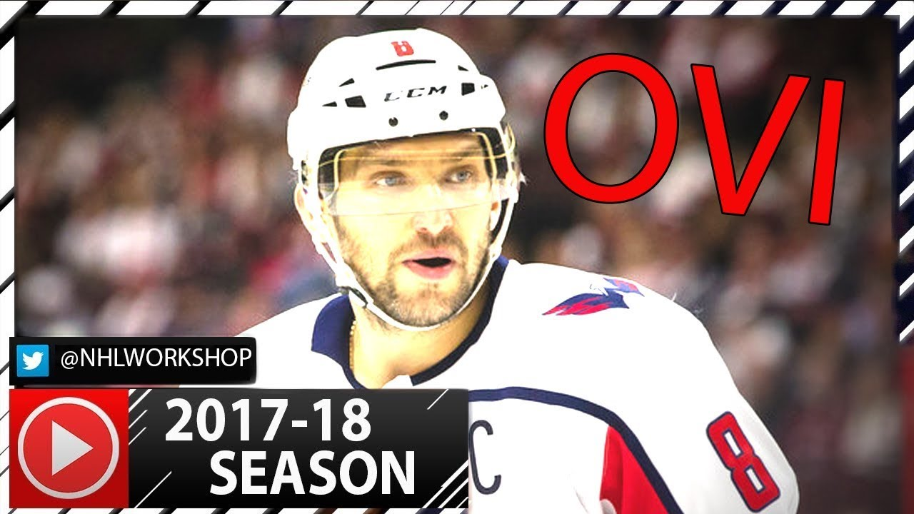 Alex Ovechkin 2017-2018 NHL Season Highlights. 9 Goals Already! (HD ... 5598c138a043