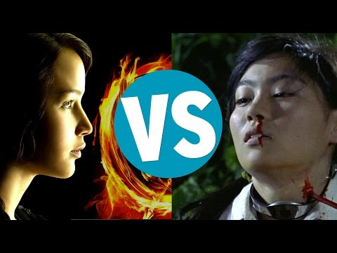 The Hunger Games Vs Battle Royale