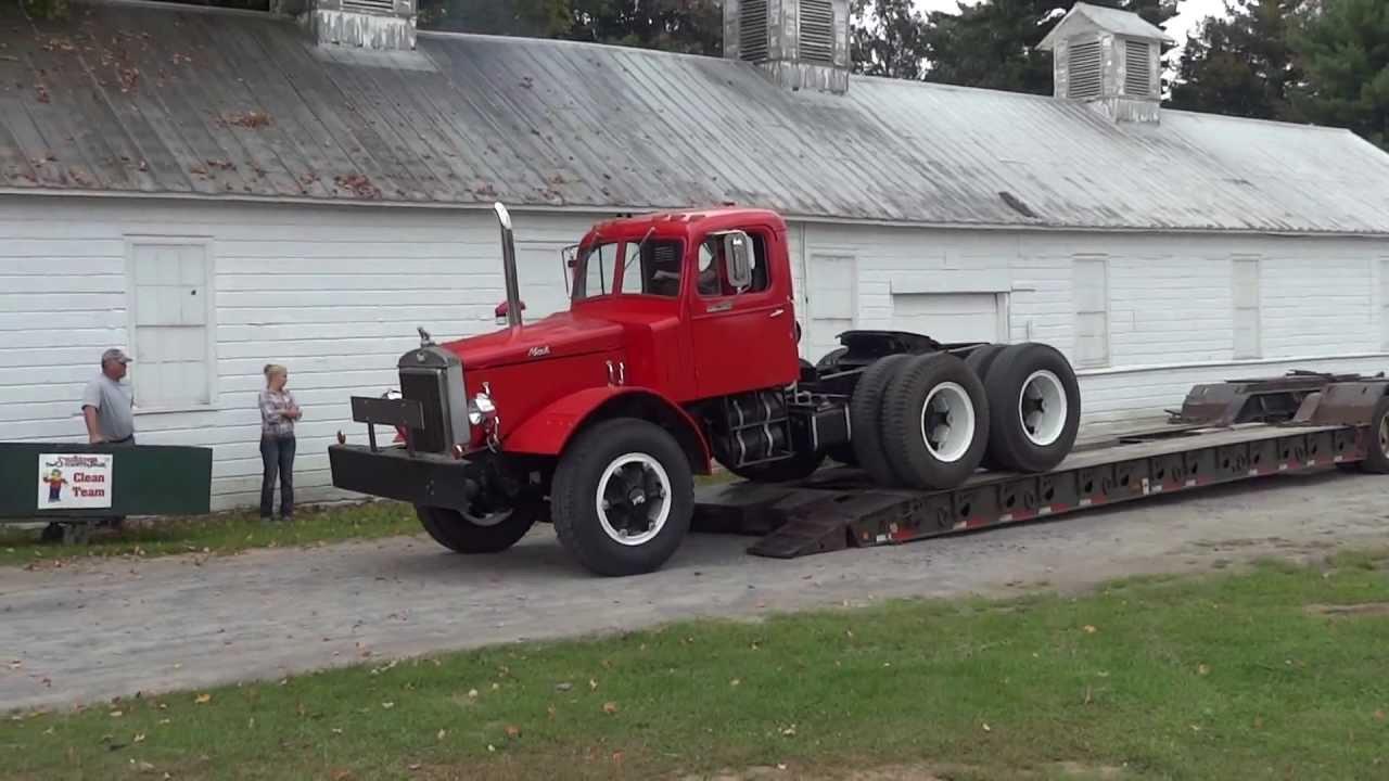 1948 Mack Truck : Mack lm aths hudson mohawk truck show youtube