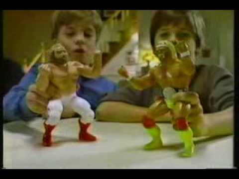 198485 WWF LJN Wrestling Superstars Commercial