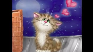* Доброе утро! Кошачий позитивчик. Картины художника Алексея Долотова