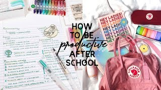 How I Stay Productive & Focused - Study Tips