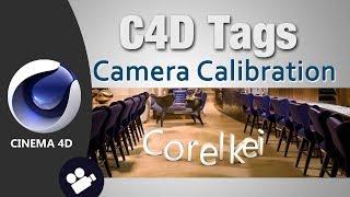 Camera Calibration Tag, Cinema 4d tutorial