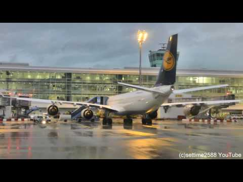 Lufthansa Full Flight  LH1894 from Munich to Turin. Canadair CRJ-900 D-ACKD