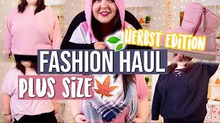 PLUS SIZE TRY-ON FASHION HAUL🍁 | Herbst Edition | Yours Clothing, H&M | Vanessa Nicole