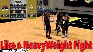 NBA 2K17 Pro AM | Heavyweight Fight vs No 6 Ranked Unknown