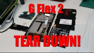 How to Disassemble LG G Flex 2!