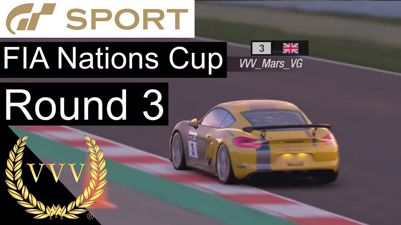 gran turismo sport fia nations cup round 3 and races youtube