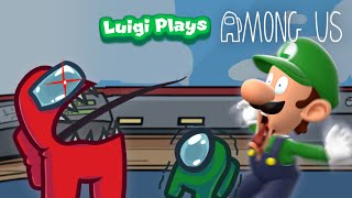 Luigi Plays: AMONG USSS