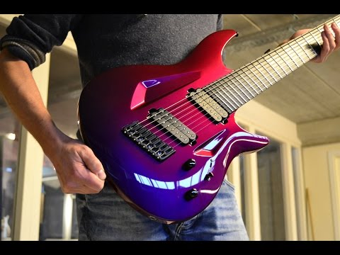 UNBIASED GEAR REVIEW - Aristides 080s 8-string Guitar