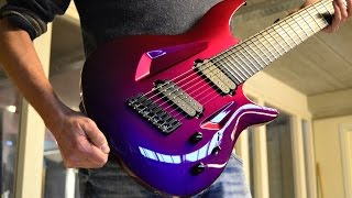 Gambar cover UNBIASED GEAR REVIEW - Aristides 080s 8-string Guitar