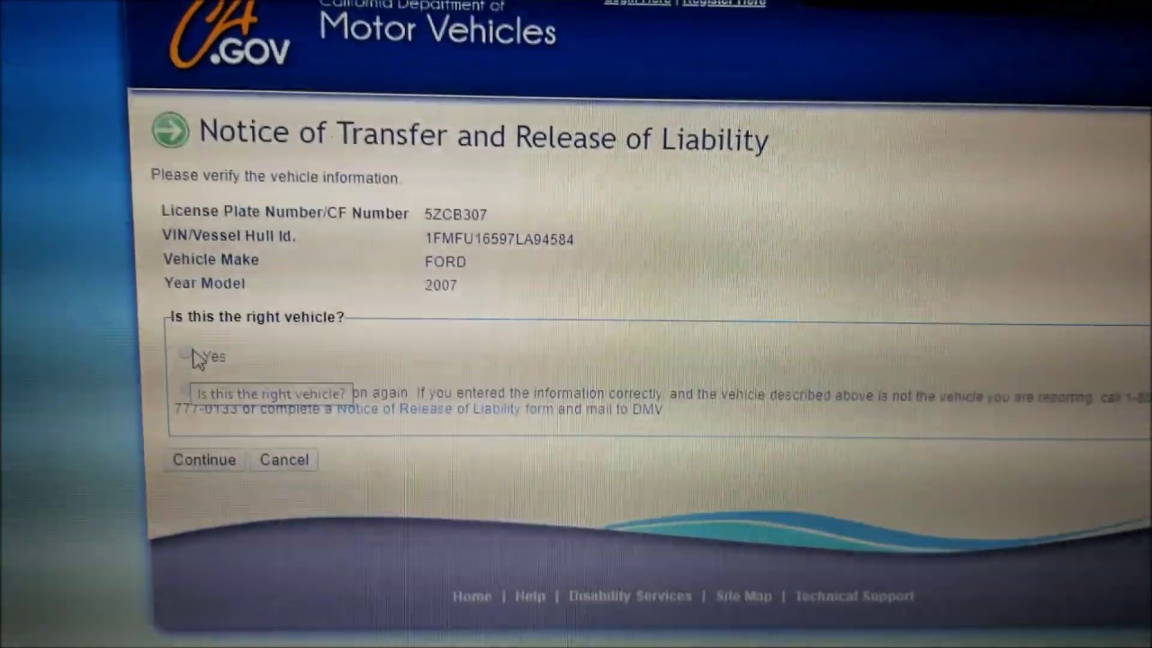 Release Of Liability Ca >> Why You Should Always File Dmv Release Of Liability Form Online