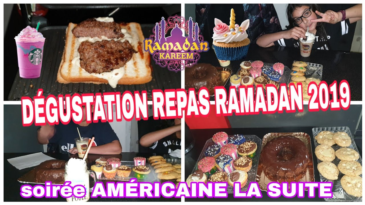 ON CUISINE LE REPAS DU RAMADAN 2019 ET ON PASSE À LA DÉGUSTATION :SOIRÉE AMÉRICAINE PARTIE 2