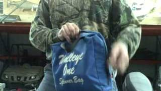 Walleye Leader Storage with the Walleye One Spinner Bag by Chris Pluntz