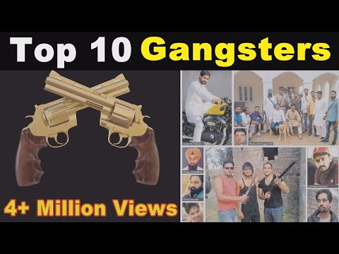 TOP 10 || GANGSTERS IN PUNJAB || SEE THE DETAILS.