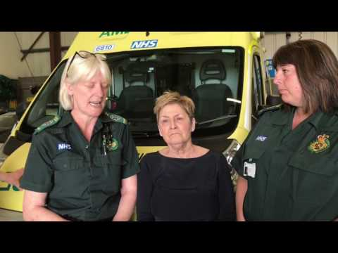 'A Sepsis pilot saved my life' patient thanks ambulance crew