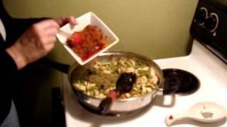 Chicken Pesto Pasta With Philadelphia Cooking Creme Savory Garlic