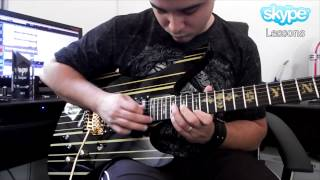 Cacá Barros - Andronikos Theme - Synyster Gates Live Solo Cover