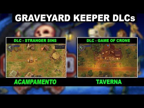 Como é as DLCs game of crone e stranger sins - Graveyard Keeper 2021 |