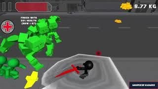 Stickman sword Fighting 3D - Detroit hills Game Walkthrough 1