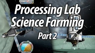Minmus Base Science (Beginner Tutorial: Part 10) - Kerbal Space Program (KSP) 1.1 Stock Career