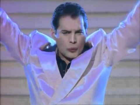 Freddie Mercury - The Great Pretender (Official Video HQ 480p)