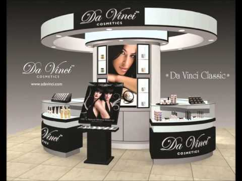 Makeup Store Franchise Opportunity with Da Vinci Cosmetics Mineral Makeup Brand