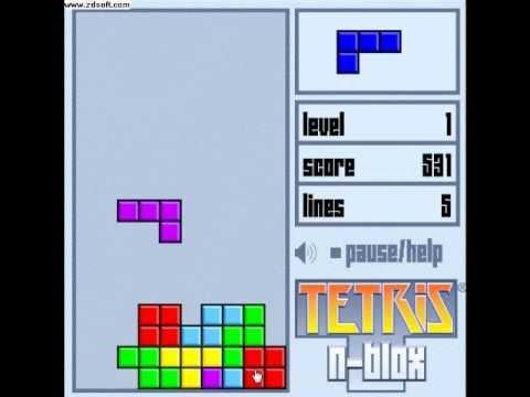 Tetris - This stuff is intense