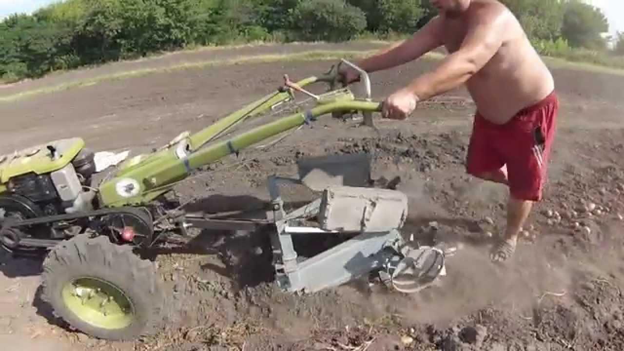 самодельная картофелесажалка к мини трактору мтз