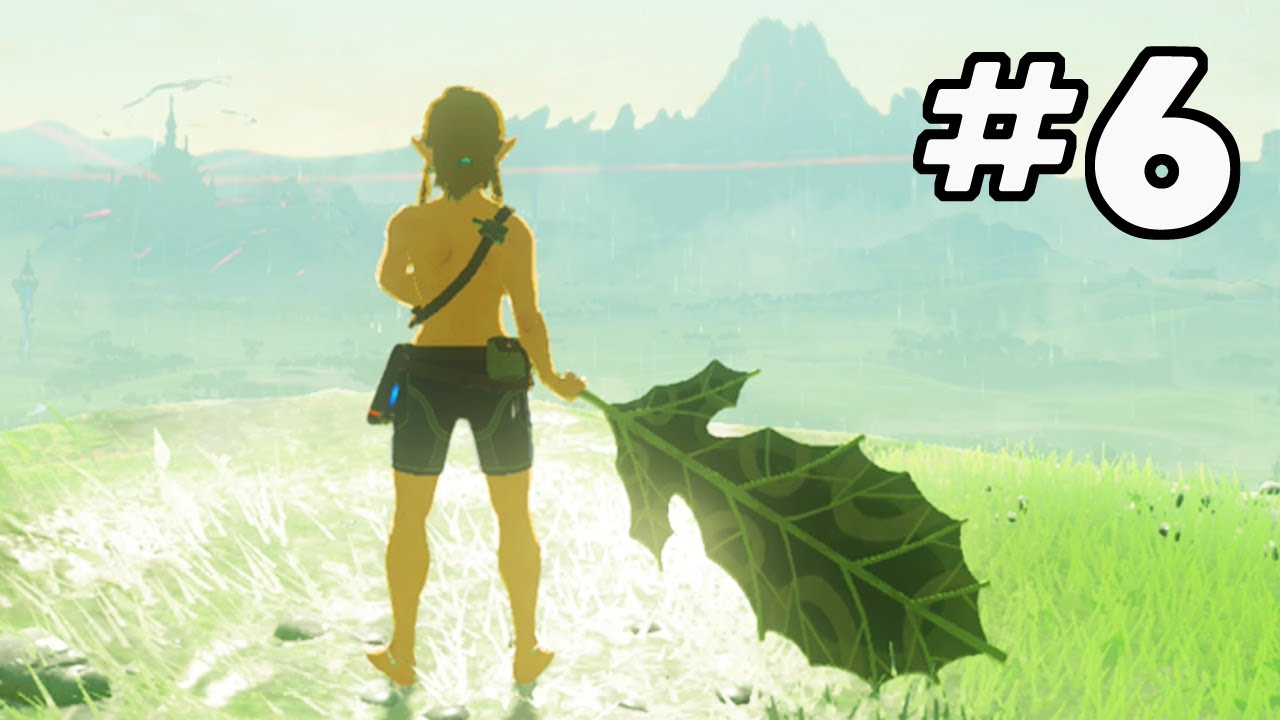 Beating Breath of the Wild with a Single Korok Leaf (Part 6) | PointCrow VOD