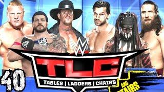 WWE 2K16 Kariyer Türkçe   TLC de Merdiven Maci PPV   40.Bölüm   Ps4