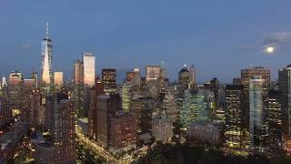 "NYC, Lower Manhattan ""Sunset"" Drone Aerials by DAHBOO7"