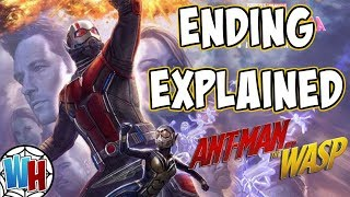 Ant-Man and the Wasp Ending and Post Credits Explained! | Avengers 4 Connection!