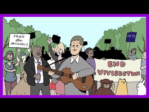 Don Action Jackson - Paul McCartney's New Animated Video For PETA... Looking For Changes