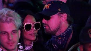 Rihanna All Smiles With Leonardo DiCaprio at Coachella