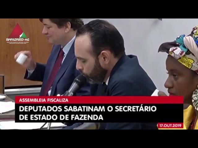 Secretário de Fazenda fala sobre Férias Prêmio na ALMG