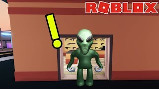 reach the map of JAILBREAK ALIENS in ROBLOX